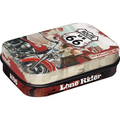 Nostalgic-Art 81278, Route 66 - Lone Rider, Pillendose