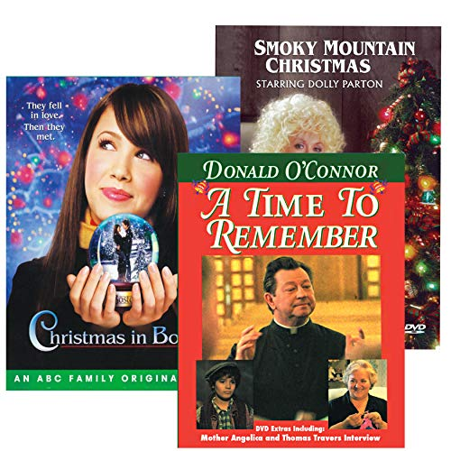 A Smoky Mountain Christmas DVD - COLLECTION PACK / Dolly Parton: A Time to Remember / A Smoky Mountain Christmas / Christmas in Boston
