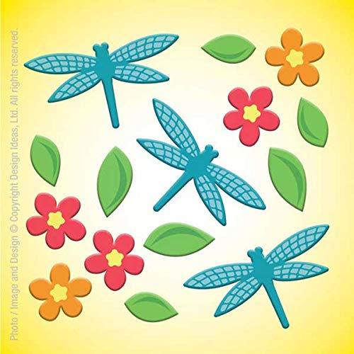 GelGems Dragonflies Large Bag Gel Clings