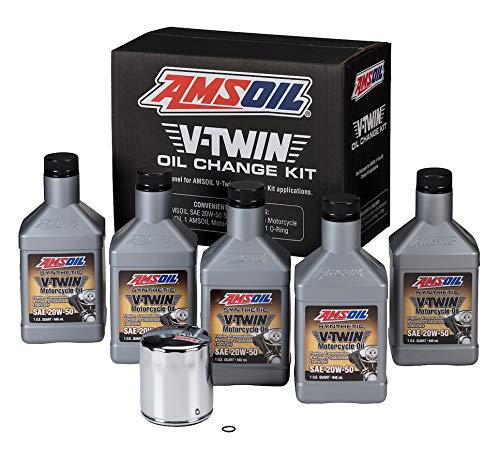 Amsoil VTWIN Oil Change KIT 20W50 Full Synthetic...