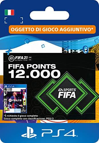 FIFA 21 Ultimate Team 12000 FIFA Points   Codice download per PS4 (incl. upgrade gratuito a PS5)- Account italiano