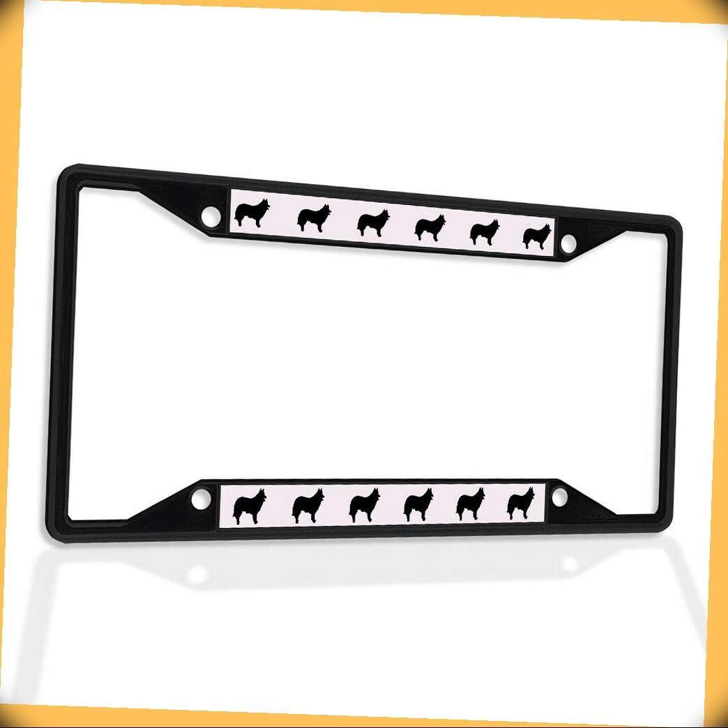New Metal Aluminum Alloy Free shipping Black B4K Sh License Plate Frame Insert 2021 new