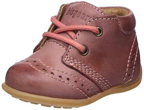 Bisgaard Baby Mädchen Lauflernschuhe Sneaker, Pink (91 Rosa), 21 EU