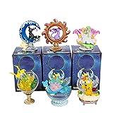 Pokemon Blind Box Toy 6 Estilos Sleep Edition Pikachu Espeon Umbreon Jirachi Lapras Gardevoir Anime Figuras Modelo Colección Juguete, Regalos para Niños