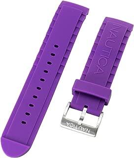 Nautica Unisex A13642G NSR 101 Multi- South Beach Classic Purple 22mm Replacement Watch Band | Strap
