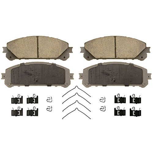 Wagner ThermoQuiet QC1324 Ceramic Disc Pad Set
