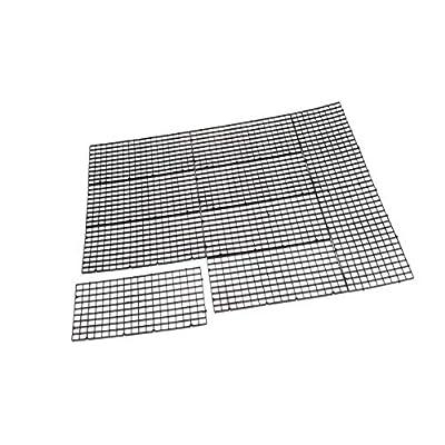 Tenlacum Isolierung für Aquarien, für Eierkisten, 30 x 15 cm, Schwarz, 10 Stück