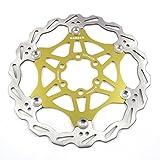 Freno de disco MTB, Bicicleta de Montaña 160mm 180mm 203mm flotante Freno disco rotores...