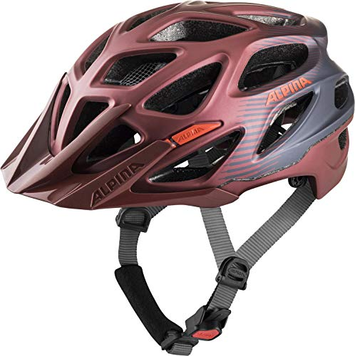 Alpina Unisex– Erwachsene Mythos 3.0 LE Fahrradhelm, Indigo-Cherry Drop, 52-57 cm