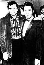 Johnny Cash & Elvis Presley Poster, Rock N' Roll Legends, the Man in Black & the King of Rock