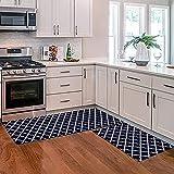 Alfombrillas lavables de cocina con celosía en blanco y negro, alfombrillas para armario de decoración del hogar, alfombrillas para gabinetes de zapatos, alfombrillas de color sólido NO.8 60X180cm