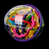 SimpleLife Maze Ball, 299 barreras 3D Magic Puzzle Intellect Ball Balance Maze Puzzle Game Globe Toy Kid Regalo