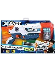 X Shot Hurricane Clip Blaster With 12 foam Darts (3693)