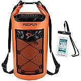 ピシファン(Piscifun)多機能 ドライバッグ 大容量 500D PVC防水 高品質リュック 10L オレンジ