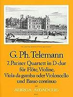 TELEMANN - Cuarteto en Re Mayor (TWV:43/d3) (Partitura/Partes)