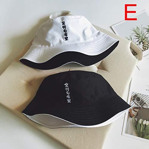 Sombrero de Cubo de Doble Cara para Usar con los Dedos, Sombrero de Pescador de Verano para Hombres y Mujeres,...