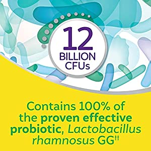 Culturelle Pro Strength Daily Probiotic, Digestive Health Capsules, Naturally Sourced Probiotic Strain Proven to Support Digestive and Immune Health, Gluten and Soy Free, 60 Count