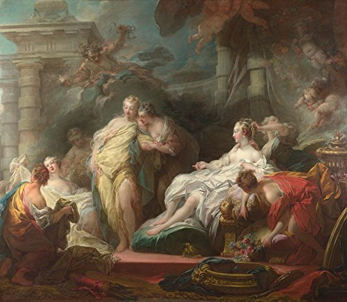 The Museum Outlet–jean-honoré Fragonard–Psyche showing Her Sisters Her Gifts from Cupid, Stretched canvas Gallery Wrapped. 50,8x 71,1cm