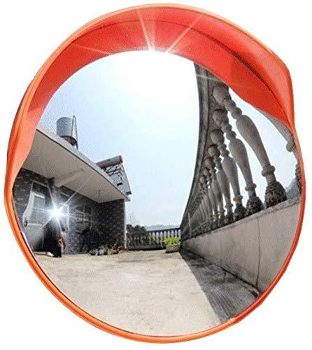 MIRROR Außenverkehr Weitwinkelobjektiv, gebogene Straße, konkaver Spiegel, Verkehr, Parkplatz, Sicherheit, konvexer Spiegel, Pc, Totwinkelspiegel, 80 cm