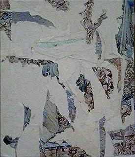 AFU 082, Collage sobre madera
