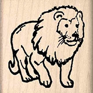 Stamps by Impression Lion Rubber Stamp