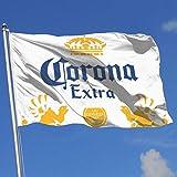 Gartenparty-Flagge im Freien,Corona Extra Beerhouse Flag Garden Flag Yard Banner Garden Flag 3 X 5