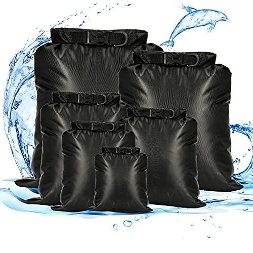 Dereine Borsa Impermeabile, Sacchi Asciutti, Ultraleggero Dry Bag per Kayak/Campeggio/Pesca/Rafting/Canottaggio/Escursionismo