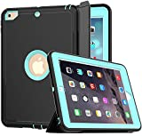 SEYMAC iPad Case 9.7 inch 2018 iPad 6th Generation Case
