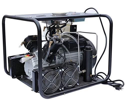 Davv digitale ad alta pressione compressore d' aria per paintball Pcp fucile ad aria compressa SCUBA serbatoio di riempimento, Built-in Cooler Sytem, 220V, fino a 4500psi Easy regolabile manometro, SCU60S