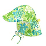 i play. by green sprouts Clothing, Shoes & Jewelry Baby Boys i Play. Flap Sun Protection Hat, Green Turtle, 0/6mo