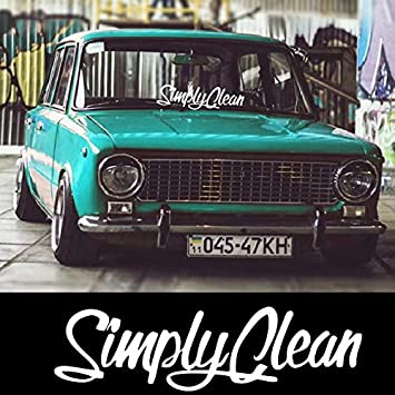 Amazon Com Tgs Topshop Simply Clean Car Lateral Sticker Window Stickers Originality Self Styling Voiture Wall Car Stickers 20cm Automotive