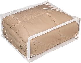 Fba Şeffaf vinil fermuarlı saklama torbası 55,9 x 45,7 x 19,1 cm, 5'li set