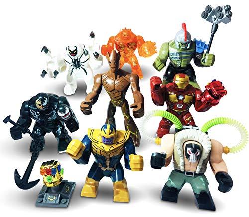 UKLego Super Heroes Minifigures Custom Superhero Mini Figures Various MiniFigs