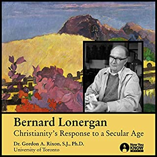 Bernard Lonergan audiobook cover art