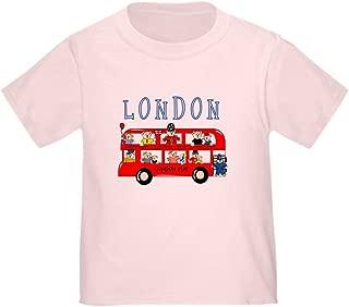 CafePress London Bus Toddler T-Shirt Toddler Tshirt