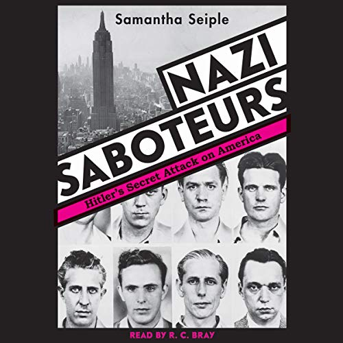 Nazi Saboteurs audiobook cover art