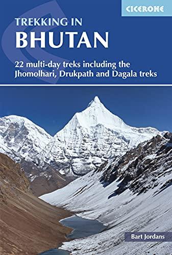 Trekking in Bhutan: 22 multi-day treks including the Lunana 'Snowman' Trek, Jhomolhari, Druk Path and Dagala treks: 22 Multi-Day Treks Including the ... and Dagala Treks (Cicerone Trekkers Guides)
