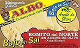 Albo Bonito Del Norte en Aceite de Oliva Bajo en Sal, 82g