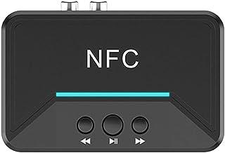 KESOTO Receptor de áudio Preto Sem Fio NFC Bluetooth 5.0 para Carro RCA Alto-falante Universal