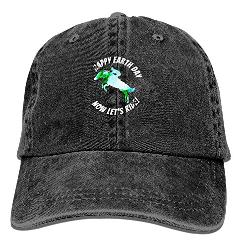 Honkbal Cap-Horse Happy Earth Day Nu laat spelen T Cowboy Hoeden voor Heren Vrouwen Pa, Sport Honkbal Caps