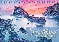 Schottland: Naturerlebnisse (Tischkalender 2022 DIN A5 quer): Schottland: Gruene Huegel und stuermische Steilkueste (Monatskalender, 14 Seiten )