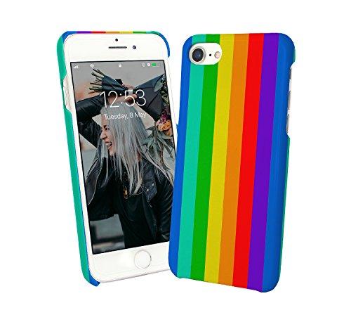 Rainbow LGBT Pride Gay_000103 iPhone 6 7 8 X Galaxy Note 8 Huawei Custodia Protettiva Hard Plastic Cover Case Regalo anniversario compleanno Natale