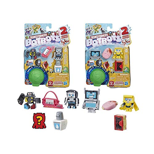 Transformers BotBots Team 5er-Pack, Backpack Bunch,  geheime 2-in-1 Figuren