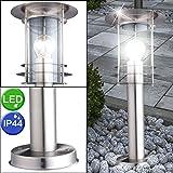 etc-shop LED Stehleuchte Außenleuchte Terrassenlampe 5 Watt Standlampe Gartenlicht IP44 Beleuchtung