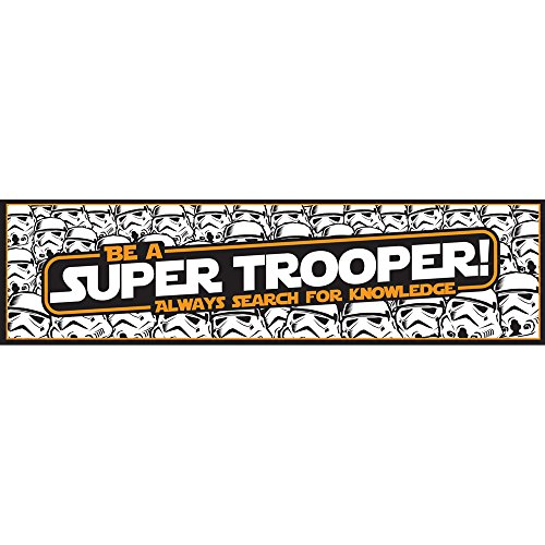 Eureka Star Wars Super Trooper Banner for Teachers and Classroom Decoration, 1pc