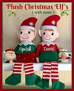 Personlized Christmas Plush Shelf Elf