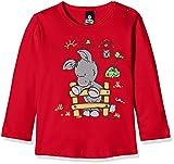 Trigema Unisex Baby T-Shirt 102578, Rot (Kirsch 036), 80