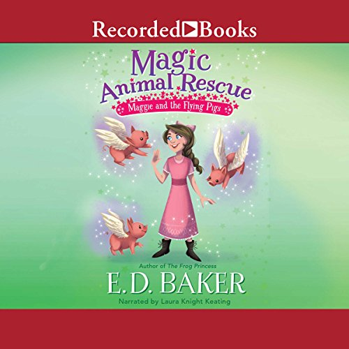 Maggie and the Flying Pigs audiobook cover art
