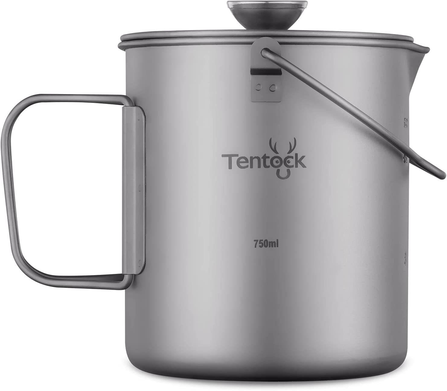 Tentock Titanium Cup Camping Coffee Maker French Tampa Mall Max 60% OFF Pr Mug