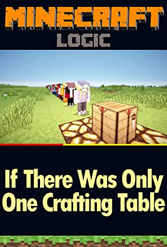 Funny Minecraft Daily Comic: There was ONE Crafting Table